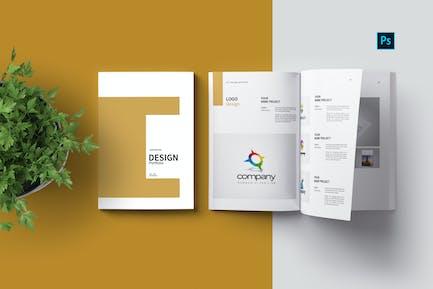 PSD Portfolio Template Vol. 04