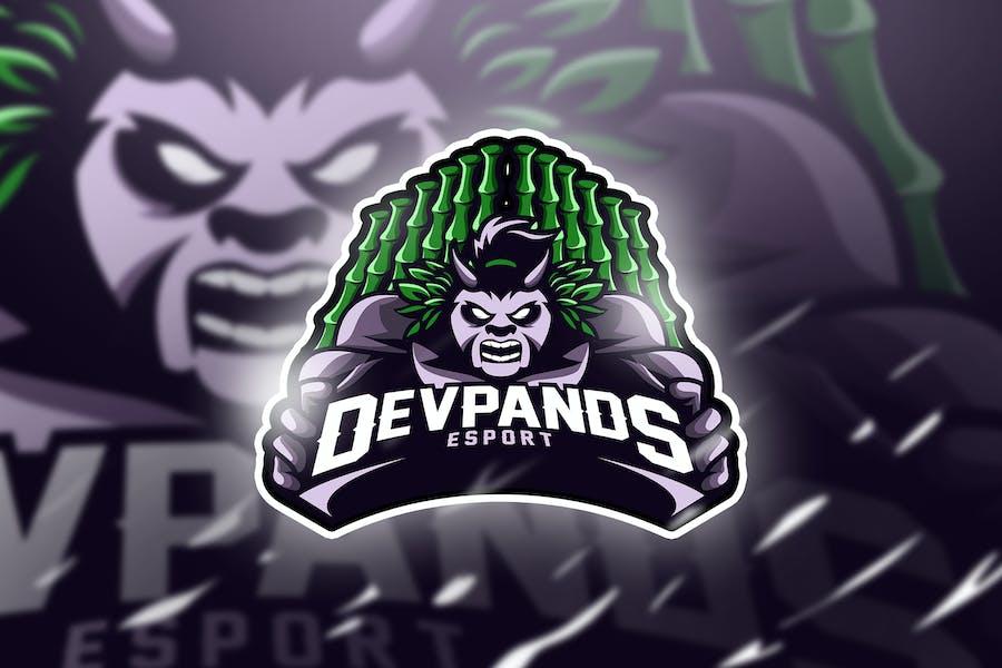 devpands - Mascot & Esport Logo