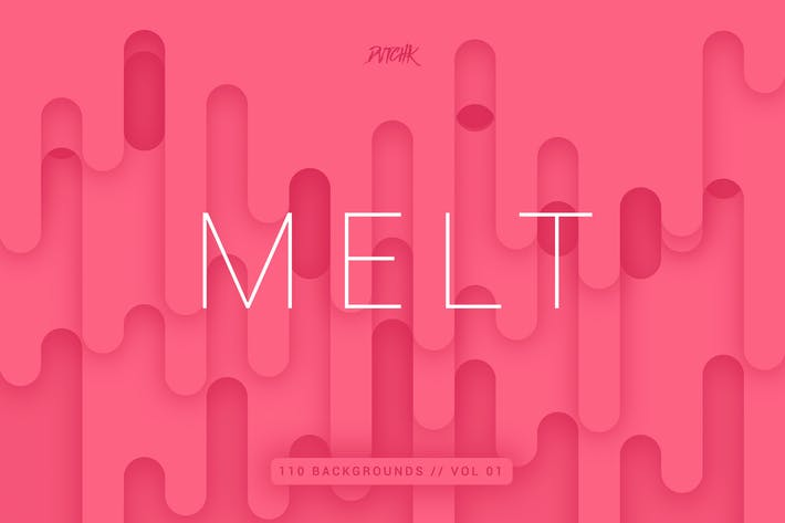 Thumbnail for Melt | Abstract Rounded Backgrounds | Vol. 01