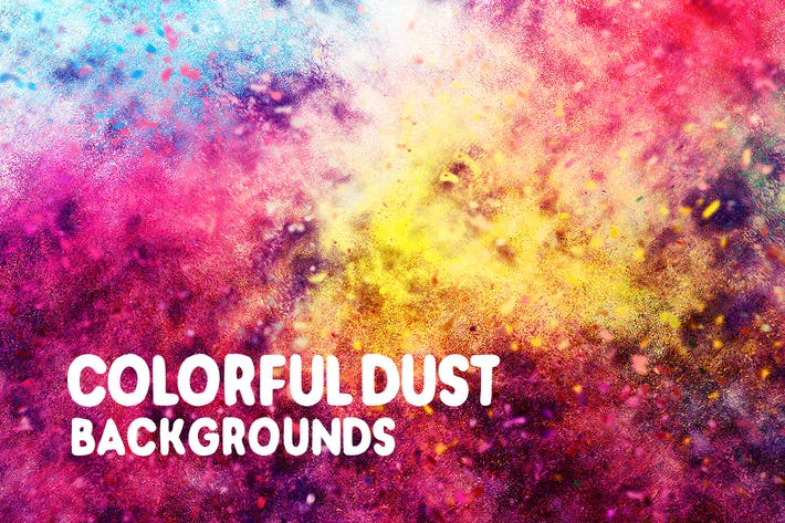 Thumbnail for Colorful Dust Backgrounds