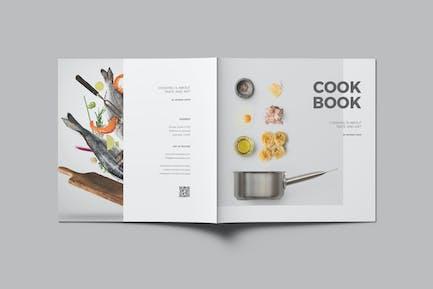 Квадратная кулинарная книга