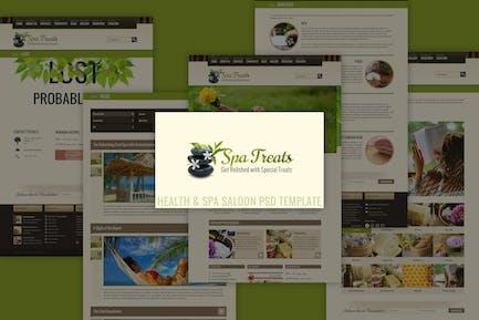 Spa Treats - Health & Spa Saloon PSD