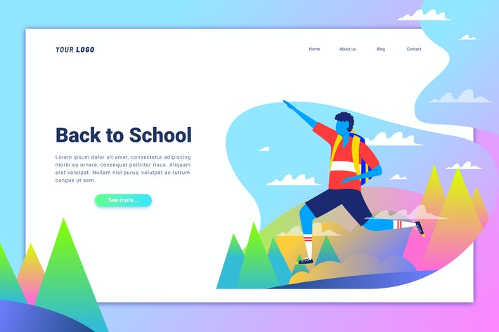 Thumbnail for Back to School - Landing Page