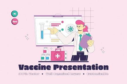 Vaccine Presentation Illustration