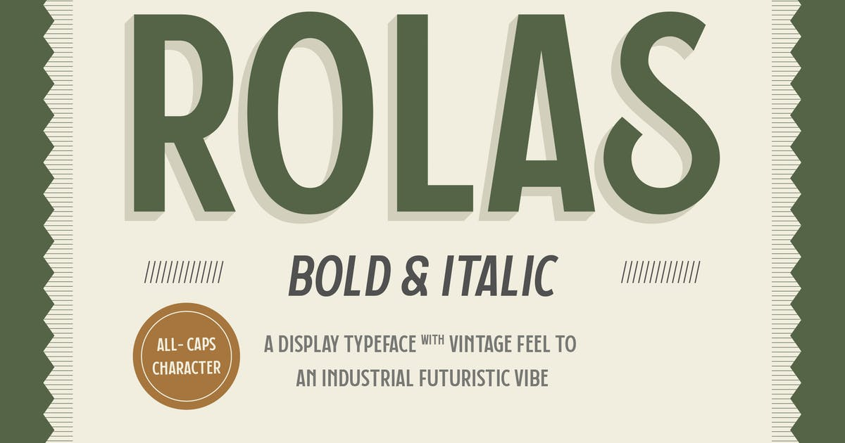 Download Rolas - Bold and Italic by adilbudianto