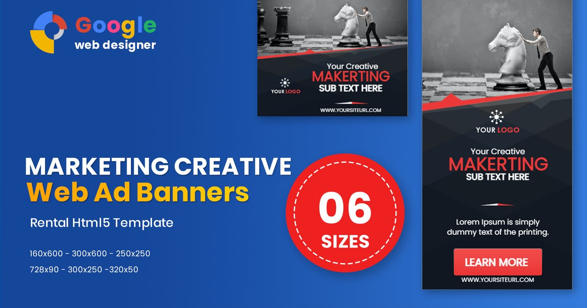 Download Business Banners HTML5 Animate GWD by IsLein