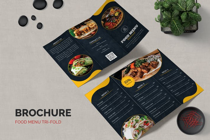 Restaurants Food Menu Brochure
