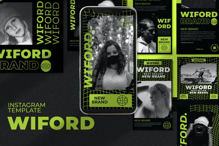Thumbnail for Wiford Instagram Template Vol.1
