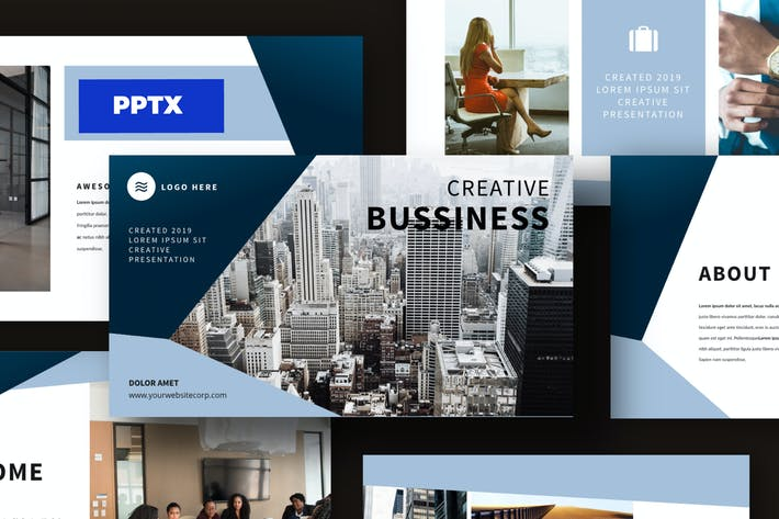 Thumbnail for Business Modern Powerpoint