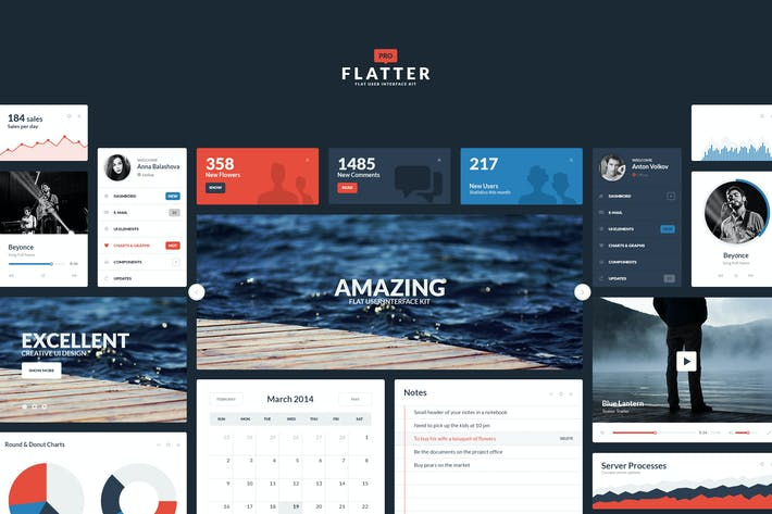 Thumbnail for Flatter UI