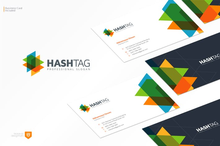 Thumbnail for Hashtag Logo Design