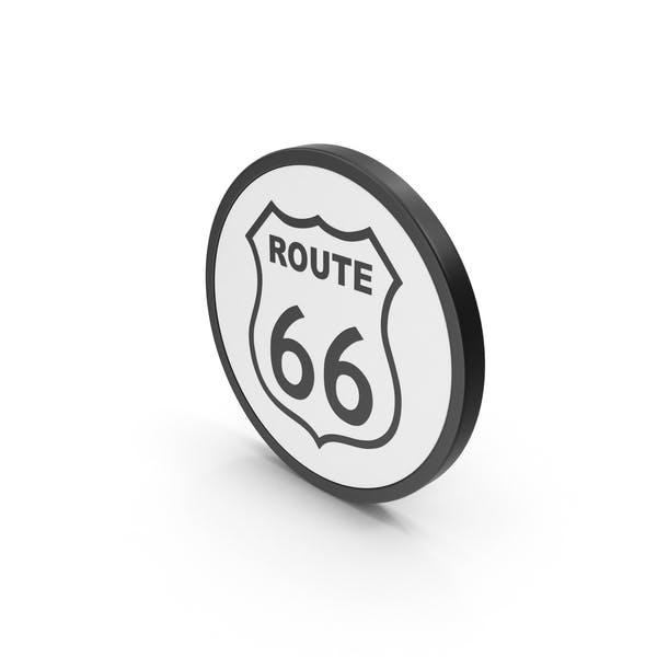 Значок Маршрут 66