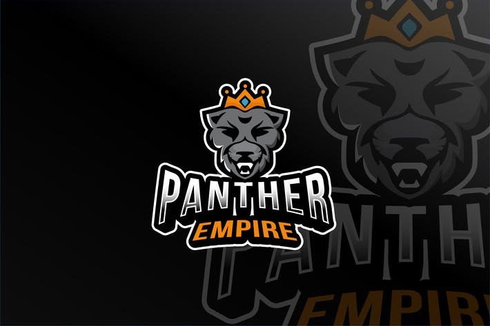 Thumbnail for Panther Empire Esport Logo Template