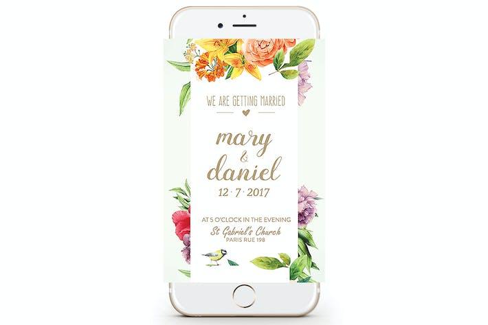 Thumbnail for Hochzeitseinladung