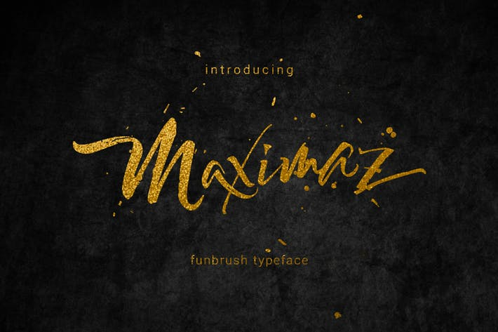 Cover Image For Maximaz Typeface