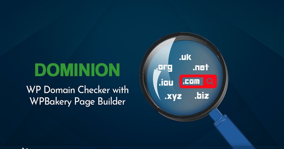 Download Dominion - WP Domain Checker Plugin by Fluent-Themes