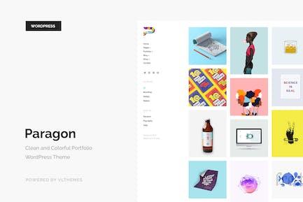 Paragon - Colorful Portfolio WordPress Theme