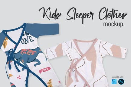 Kids Sleeper Clothes | Mockup