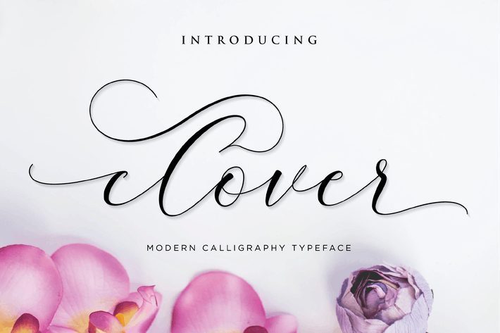 Thumbnail for Clover - Script Font