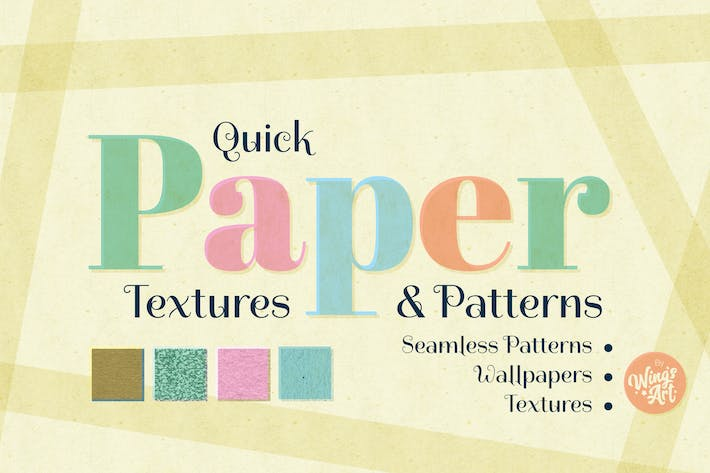 Thumbnail for Paper Textures and Patterns