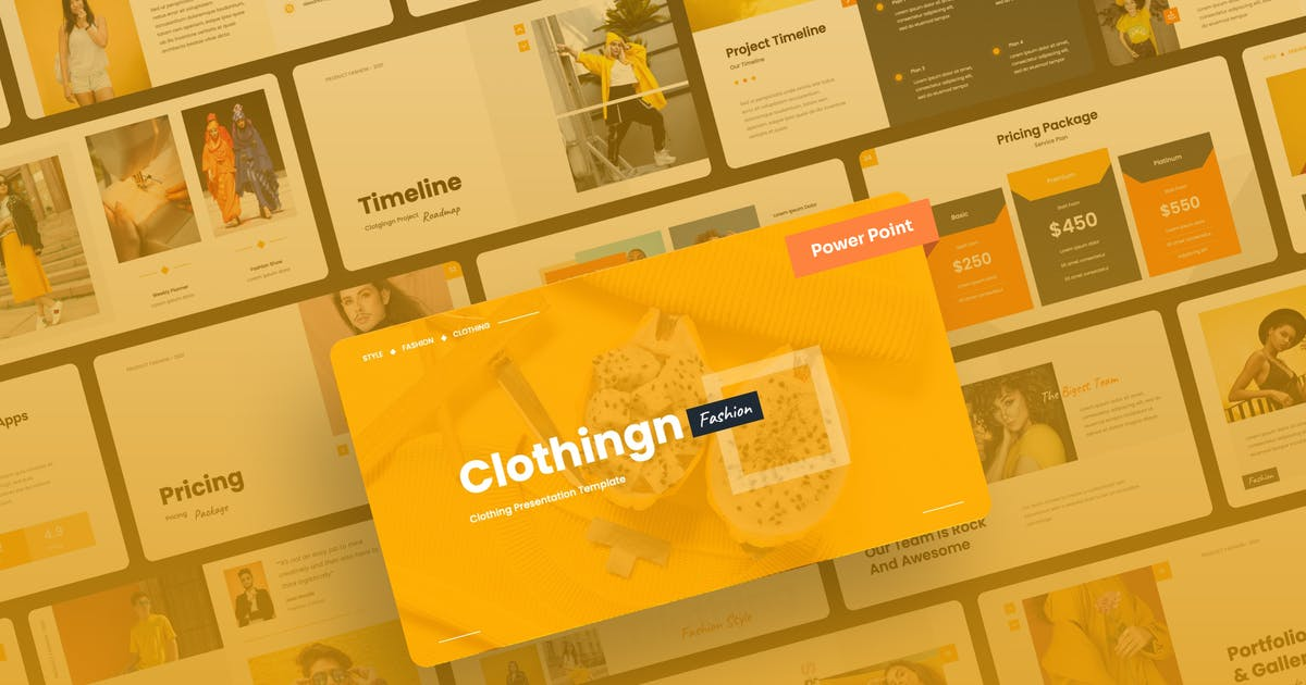 Download Clothingn - Fashion & Clothing Power Point by mhudaaa