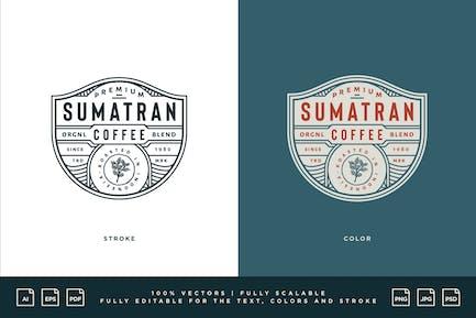 Coffee Logo - Sumatran Coffee - Original Blend