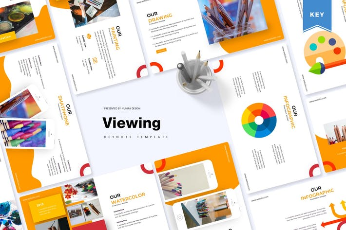 Viewing | Keynote Template