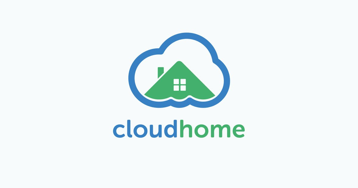 Download Smart Cloud Home Logo Template by MuseFrame
