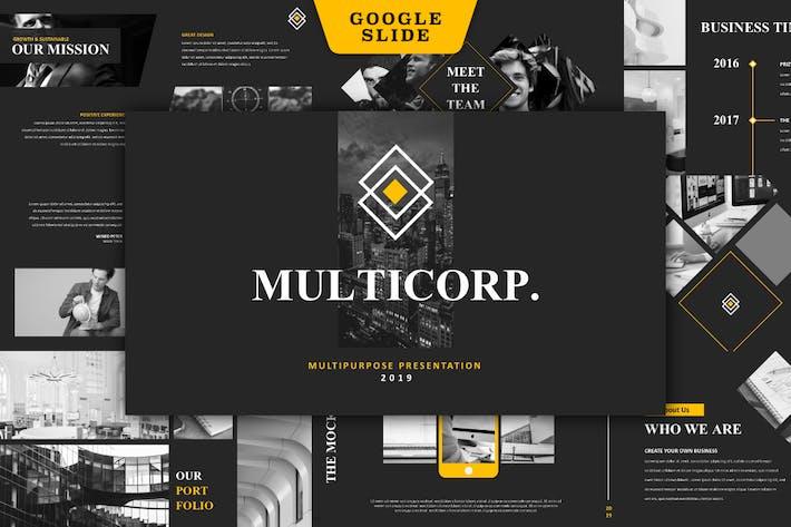 Thumbnail for Multicorp - Multipurpose Google Slide
