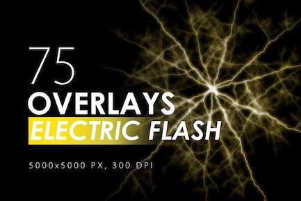 75 Electric Flash Overlays