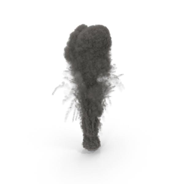 Smoke Thick Volcano