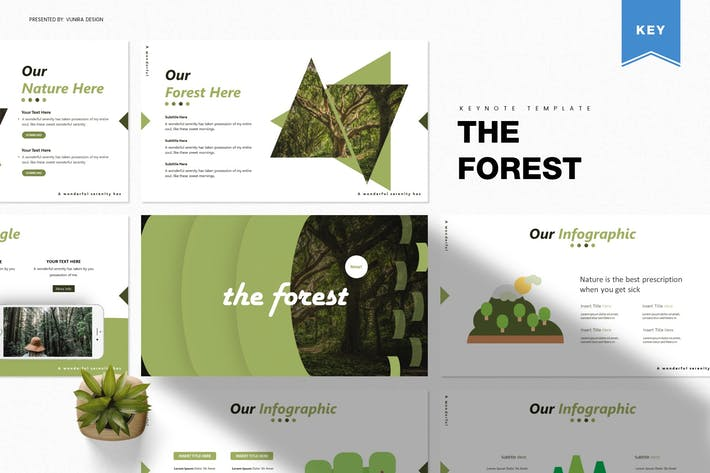 Thumbnail for The Forest | Keynote Template
