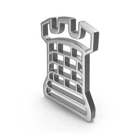 Rook Logo Silver