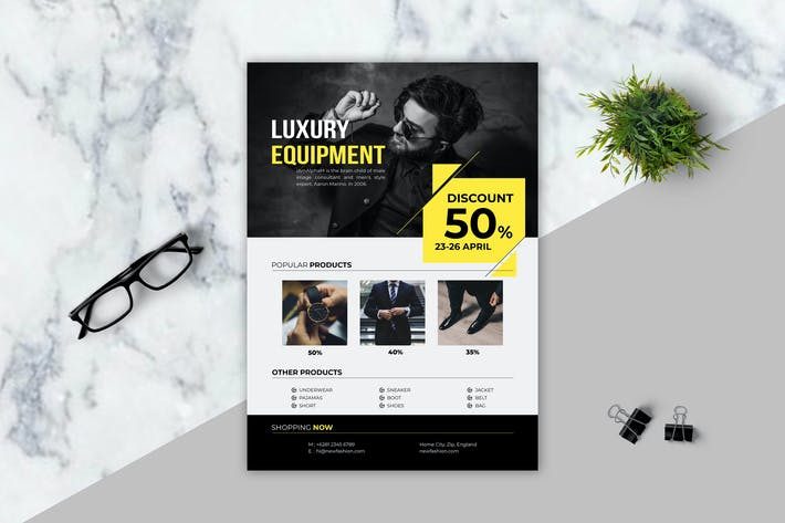Thumbnail for LUXURY - Sale Product Flyer