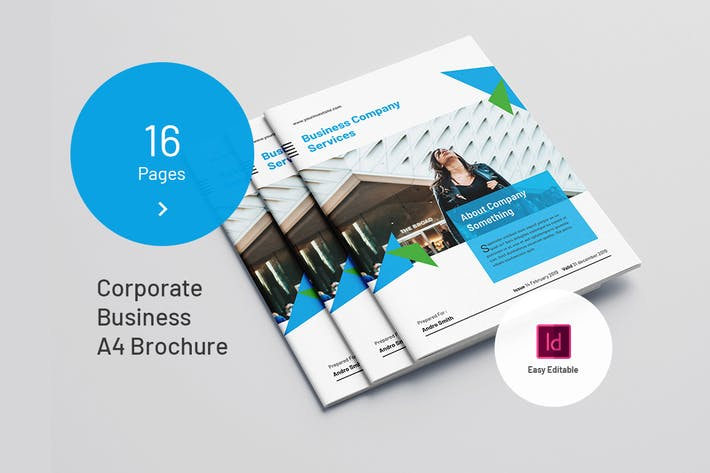 Thumbnail for Corporate Business A4 Brochure