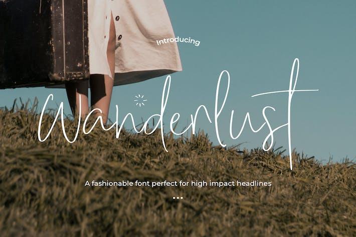 Thumbnail for Wanderlust - Font Trio