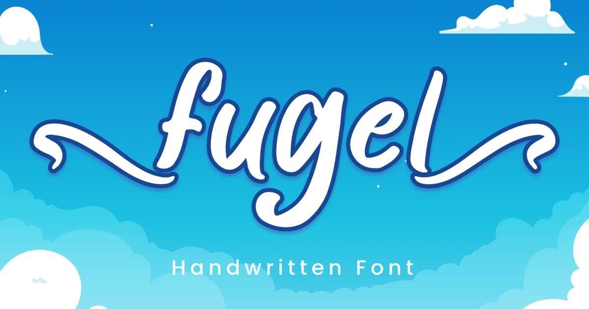 Download Fugel - Handwritten Font by Attype-Studio