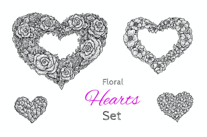 Thumbnail for Floral Hearts