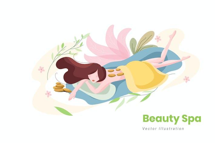 Thumbnail for Beauty Spa Vector Illustration