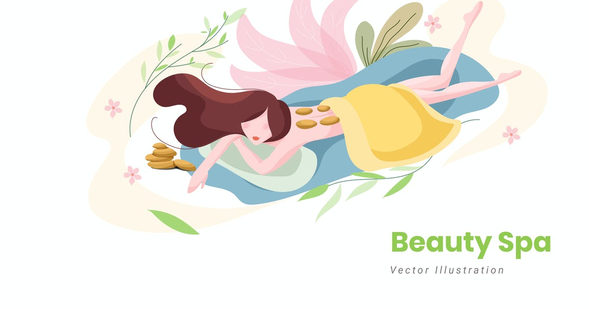 Download Beauty Spa Vector Illustration by YummyDs