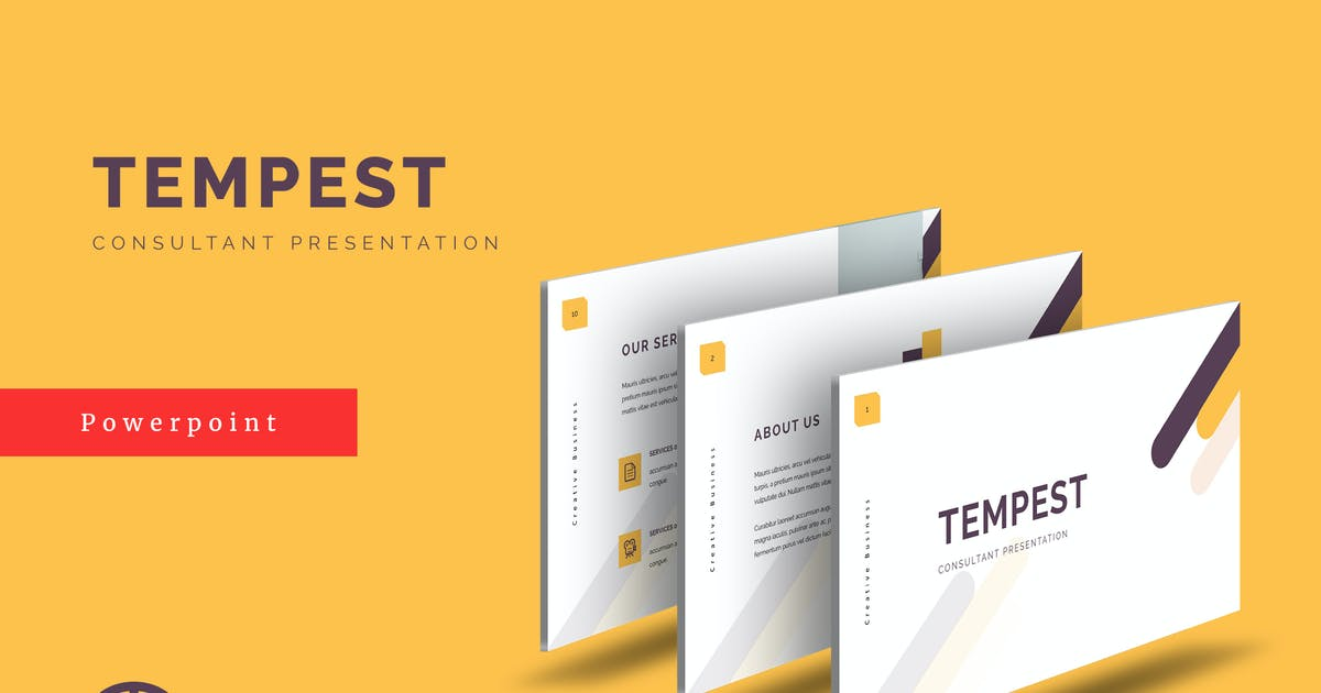 Download Tempest Consultant - Powerpoint by graptailtype