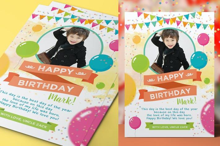 Thumbnail for Multipurpose Kids Greeting Card