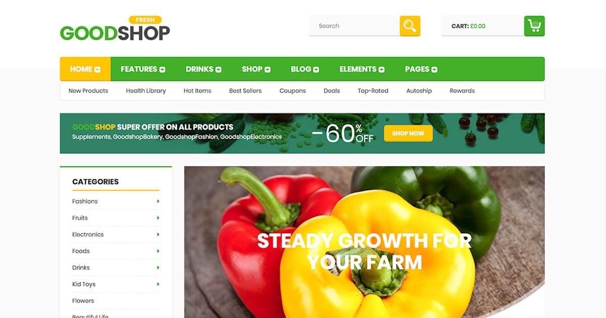 Download Good Shop Bakery Food Coffe, Fashion, Electronics by 7uptheme