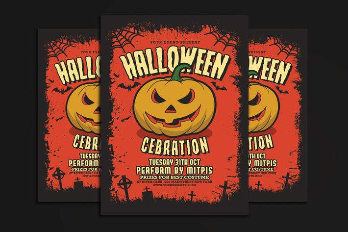 Cover Image For Halloween Party Celebration