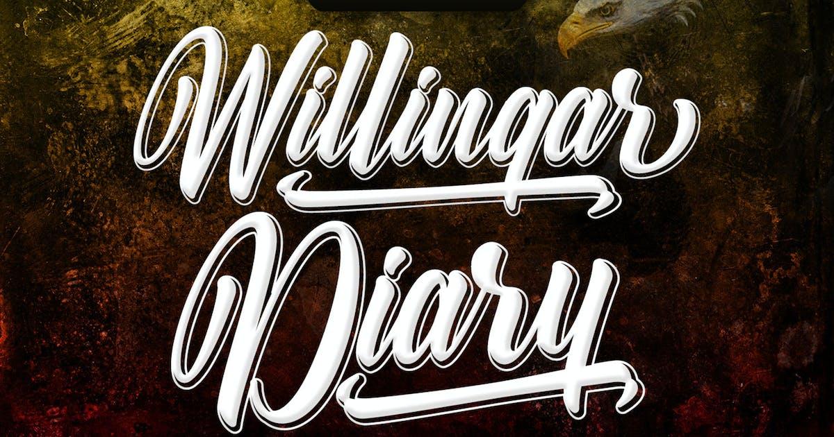 Download Willingar Diary - Outline Casual Script by kotakkuningstudio