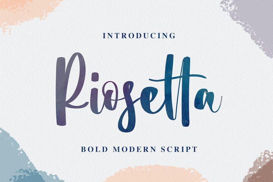 Riosetta - Bold Modern Script