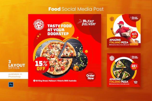 Food Social Media Post