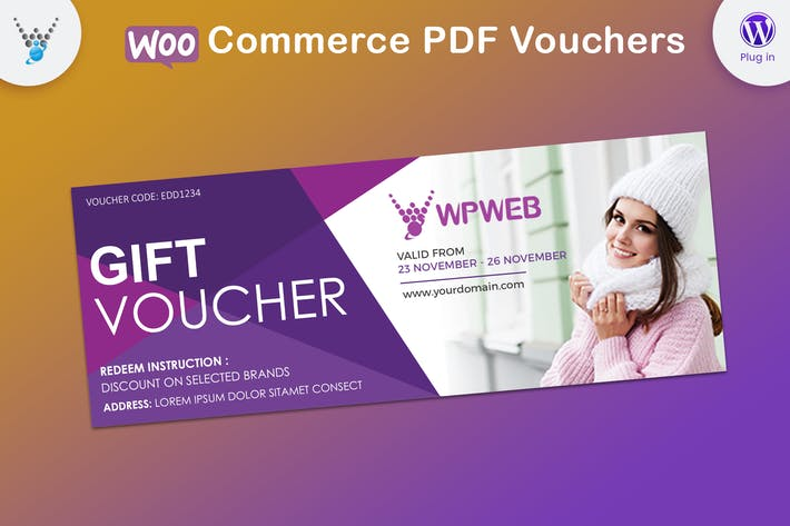 Thumbnail for WooCommerce PDF Vouchers - WordPress Plugin