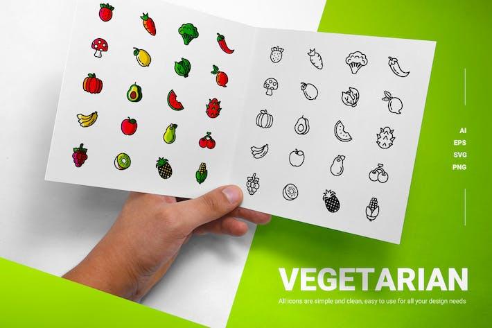 Vegetarian - Icons
