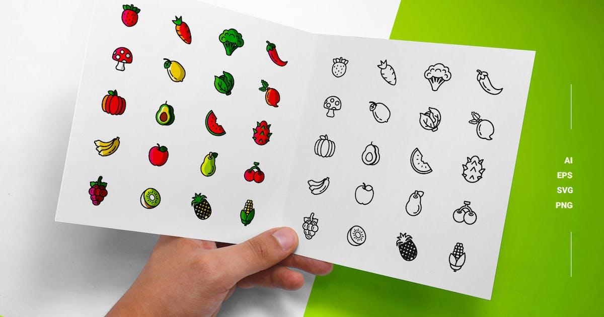 Download Vegetarian - Icons by esensifiksi